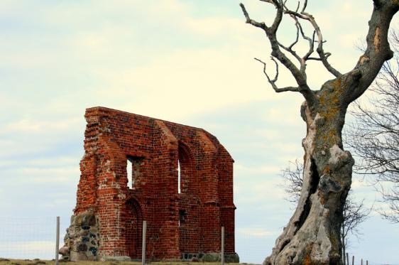 Pobierowo - Trzęsacz Ruiny